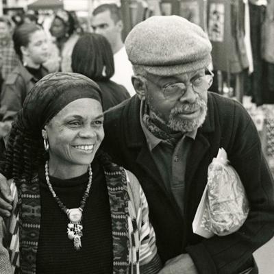 Sonia Sanchez and Amiri Baraka